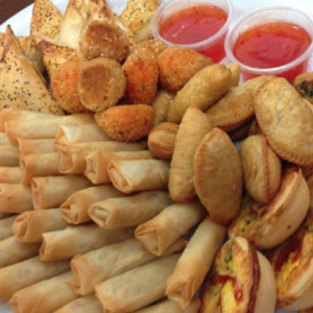 Baked Bites Platter ~ (24 Pieces) (sample pic only)