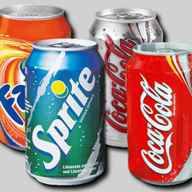 Selection Of Individual Soft Drink Cans (Price Per Person - Enter the number you are catering for)