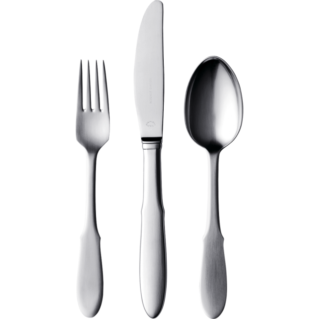 Entree Fork & Knife / Main Fork & Knife / Dessert Spoon & Fork