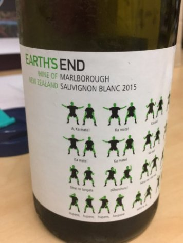 Earth's End (Sauvignon Blanc) New Zealand Marlborough 2015