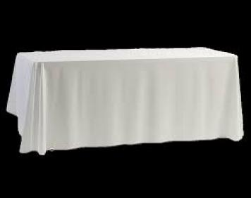 Table Cloths - White Linen