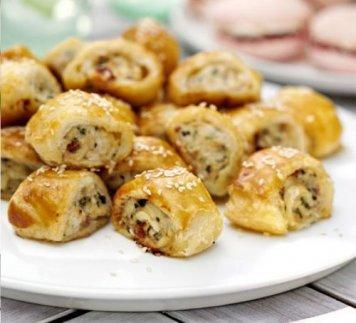 Sausage Roll / White Bean / Vegan