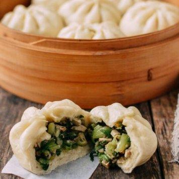 Vegetable Steamed Bun / Char Sui Sauce