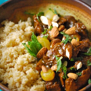 Middle Eastern Lamb Tagine & Cous Cous