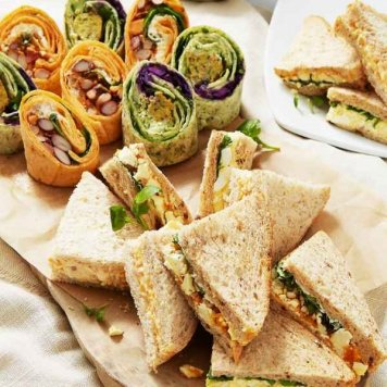 Build Your Own Roll / Wrap / Sandwich Platter ~ Feeds 5-7 ~ Choose 5. Ten 'Sandwiches' In Total