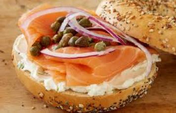 Bagels Open / Smoked Salmon / Cream Cheese