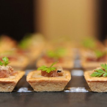 Light Six Piece Canape Menu