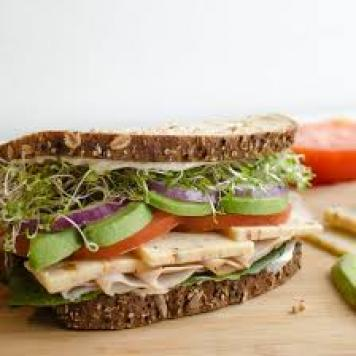 Turkey Breast ~ Avocado / Tomato / Chutney / Lettuce / Wholemeal